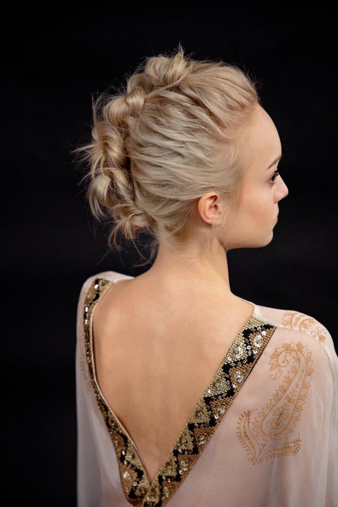hochsteckfrisur kurze haare